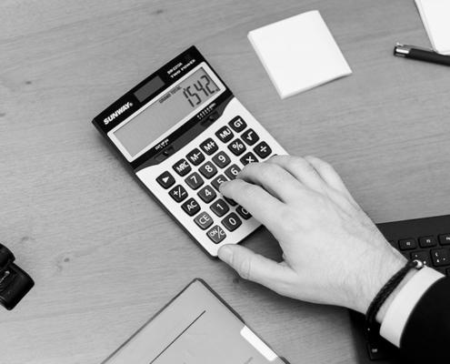 Kalkulator, wyliczenia podatkowe